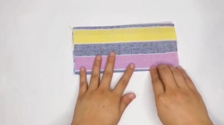 fold half half