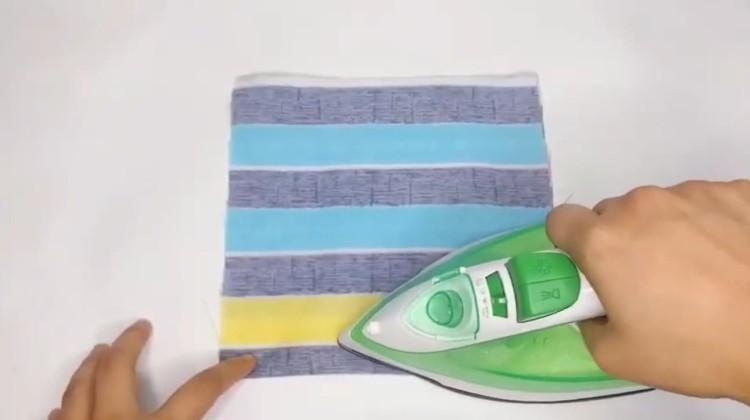 fold in half iron