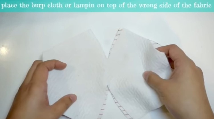 lampin and second fabric